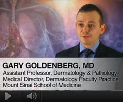 Watch Video: Dr. Goldenberg featured on The Doctors Channel to discuss the pathophysiology and approach to treatment for Actinic Keratosis in immunosuppressed patients