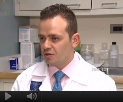 Watch Video: Dr. Goldenberg featured on CBS 2 News about early signs of skin cancer