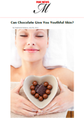 FoxNews Magazine – Dr. Goldenberg explains how chocolate can be beneficial for the skin.
