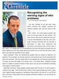 Queens Chronicle – Dr. Gary Goldenberg talks about signs of skin problems