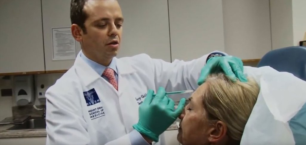 wrinkle relaxing agents video