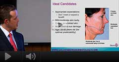 "Dr. Gary Goldenberg Cosmetic Lecture ""Thermage Laser Treatment"""