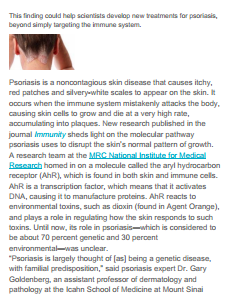 HealthlineNews - See what Dr. Gary Goldenberg has to say about Psoriasis