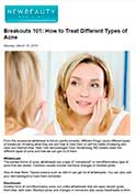 NewBeauty.com - Dr. Gary Goldenberg breaks down the different types of acne and how to get rid of them.