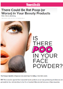 Women's Health Mag – Dr. Goldenberg warns about using counterfeit skin products.