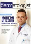 The-dermatologist.com - Dr. Goldenberg featured in the article -Modern Melanoma Diagnosis and Treatment