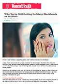 Women's Health Mag - Dr. Goldenberg gives his input on - Why You're Still Getting So Many Blackheads as an Adult