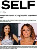 SELF – Dr. Gary Goldenberg is quoted in - Bethenny Frankel Proves You Can Change The Shape Of Your Face Without Surgery
