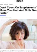 SELF – Dr. Goldenberg is quoted in supplements to make your hair and nails grow faster
