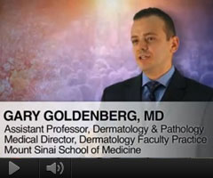 Watch Video: Dr. Gary Goldenberg featured on The Doctors Channel to discuss Actinic Keratoses among the elderly population and how it is related to several factors