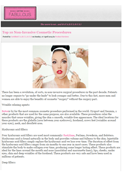 Certified Fabulous – Dr. Gary Goldenberg discusses the Top 10 Non-Invasive Cosmetic Procedures.