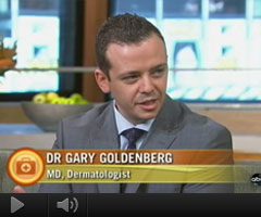 Watch Video: Dr. Gary Goldenberg discusses sun damage on ABC's Good Morning America