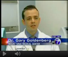 Watch Video: Dr. Gary Goldenberg featured on ABC7 News speaking about Actinic Keratosis