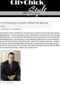 CityChick Style – Dr. Gary Goldenberg is quoted in - A revolutionary cosmetic solution for glowing skin